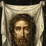 Anonymous - The Sudarium of St Veronica, Mauritshuis