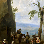 Mauritshuis - Johannes Lingelbach - Italian Landscape with Resting Peasants