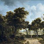 Mauritshuis - Meindert Hobbema - Cottages in a Forest