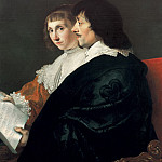 Jacob van Campen - Double Portrait of Constantijn Huygens and Suzanna van Baerle , Mauritshuis
