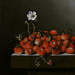 Adriaen Coorte - Still Life with Wild Strawberries, Mauritshuis