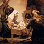 The Adoration of the Shepherds, Jan De Braij