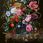 Jan Davidsz de Heem - Vase of Flowers, Mauritshuis
