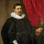 Portrait of a Man, possibly Peter van Hecke (), Peter Paul Rubens