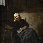 Claes Hals - Girl Reading, Mauritshuis