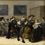 Anthonie Palamedesz - Merry Company Dining and Making Music, Mauritshuis