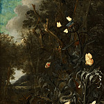 Otto Marseus van Schrieck - Plants and Insects, Mauritshuis