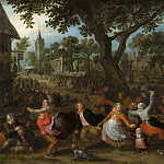 David Vinckboons - Country Fair, Mauritshuis