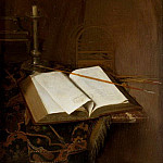 Mauritshuis - Jan van der Heyden - Still Life with a Bible