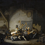 Mauritshuis - Adriaen van Ostade - Peasants Making Merry