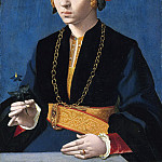 Bartholomäus Bruyn the Elder - Portrait of Elisabeth Bellinghausen , Mauritshuis