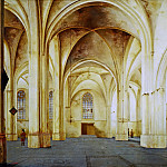 Mauritshuis - Pieter Saenredam - The Interior of the Cunerakerk in Rhenen