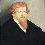 Lucas Cranach the Younger - Portrait of a Man with a Red Beard, Mauritshuis