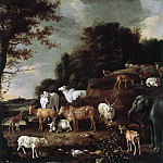 Melchior d' Hondecoeter - Landscape with Exotic Animals, Mauritshuis