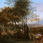 Willem de Heusch - Mountainous River Landscape in Italy, Mauritshuis