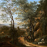 Mauritshuis - Willem de Heusch - Mountainous Landscape in Italy