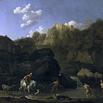 Karel Dujardin - The Waterfalls at Tivoli, Mauritshuis