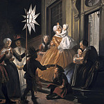 Cornelis Troost - Singing Round the Star on Twelfth Night, Mauritshuis