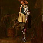 Mauritshuis - Willem Cornelisz Duyster - Officer, Standing