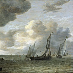 Jan van Goyen - Estuary with Sailing Boats, Mauritshuis