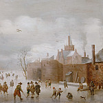 Anthonie Verstralen - Winter Landscape, Mauritshuis