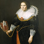 Mauritshuis - Paulus Moreelse - Portrait of a Lady