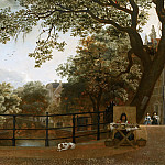 Hendrick ten Oever - View of the Herengracht in Amsterdam, Mauritshuis