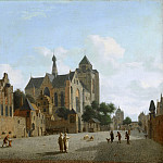 Jan van der Heyden - The Church at Veere, Mauritshuis