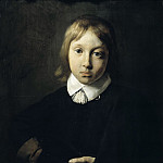 Portrait of a Boy, Aged Six, Jan De Braij