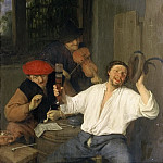 The Merry Drinkers, Adriaen Van Ostade
