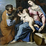Mauritshuis - Raffaello Vanni (attributed to) - The Holy Family and St Anne