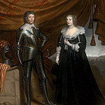 Mauritshuis - Gerrit van Honthorst - Double Portrait of Frederik Hendrik (1584- 1647) and Amalia of Solms-Braunfels (1602- 1675)