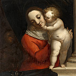 Mauritshuis - Luca Cambiaso - Madonna and Child, with John the Baptist