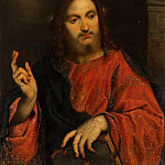 Mauritshuis - Paris Bordone - Christ Blessing