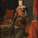 Portrait of the Infante Balthasar Carlos (1629-1646), Juan Bautista Martinez Del Mazo