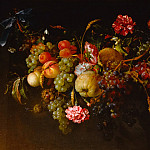 Jan Davidsz de Heem - Garland of Fruit and Flowers, Mauritshuis