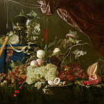 Mauritshuis - Jan Davidsz de Heem - Sumptuous Fruit Still Life with Jewellery Box