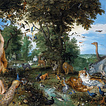 Mauritshuis - Jan Brueghel the Elder, Peter Paul Rubens - The Garden of Eden with the Fall of Man