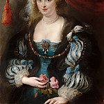 Mauritshuis - Peter Paul Rubens (and studio) - Portrait of a Young Woman