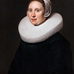 Jan Westerbaen the Elder - Portrait of Susanna Pietersdr Oostdijk , Mauritshuis