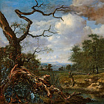 Jan Wijnants - Landscape at the Edge of Woods, Mauritshuis