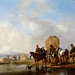 Philips Wouwerman - The Hay Wagon, Mauritshuis