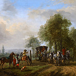 Philips Wouwerman - The Riding School, Mauritshuis