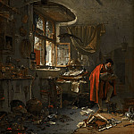 Thomas Wijck - The Alchemist, Mauritshuis