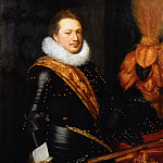 Jan Anthonisz van Ravesteyn - Portrait of an Officer, presumably Johan Wolfert van Brederode , Mauritshuis