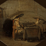 Pieter Codde – Tric-Trac Players, Mauritshuis