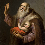Mauritshuis - Anonymous (Northern Netherlands) - Simeon and the Christ Child