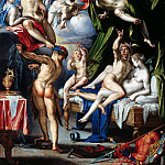Mauritshuis - Joachim Wtewael - Mars and Venus Surprised by Vulcan
