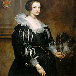 Anthony van Dyck - Portrait of Anna Wake , Mauritshuis