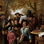 Jan Steen - The Tooth-Puller, Mauritshuis